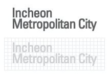 심볼마크 로고타입 B Incheon Metropolitan City